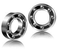 Realistic bearing set Royalty Free Stock Images