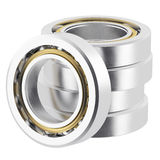 Realistic bearing on a white background with light scratches Stock Photography