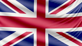 Realistic beautiful United Kingdom flag 4k. Realistic, beautiful, satin Ultra-HD Thailand flag waving in the wind, in a Slow Motion. Loop ready in 4k resolution stock video
