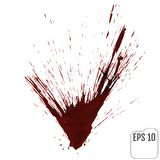 Realistic blood or wine splatters. Elements of design for hallow. Een. Vector illustration royalty free illustration