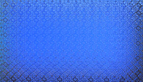 Realistic blue glass background wallpaper texture Royalty Free Stock Photography