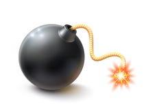 Realistic Bomb Illustration Stock Photos