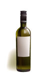 Realistic bottle of wine Stock Images