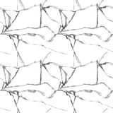 Realistic broken glass seamless pattern. Realistic transparent broken glass seamless pattern white background vector illustration Stock Images