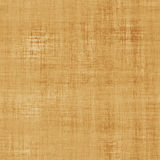 Realistic brown canvas with visible threads Royalty Free Stock Photography
