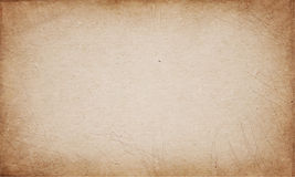 Realistic brown cardboard stained vector texture Stock Photos