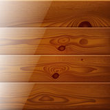 Realistic brown wood boards texture Royalty Free Stock Photo