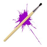 Realistic brush Royalty Free Stock Photography