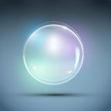 Realistic Bubble Vector Royalty Free Stock Photo