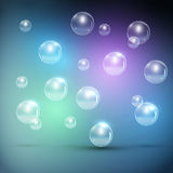 Realistic Bubbles Vector Stock Photos