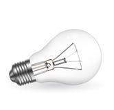 Realistic bulb Stock Image