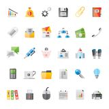 Realistic Business, Office and Finance Icons 2 Stock Photography
