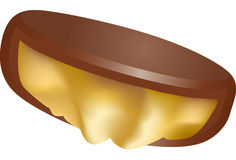 Realistic Caramel Candy Royalty Free Stock Photography