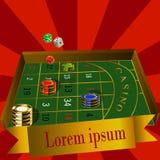 Realistic casino elements: royalty free illustration