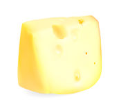 Realistic Cheese Vector Illustration Royalty Free Stock Photo