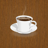 Realistic coffee cup Royalty Free Stock Photography