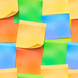 Realistic colourful sticky notes seamless pattern. A lot of realistic colourful sticky notes seamless pattern Stock Photo