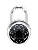 Realistic Combination Lock Illustration Royalty Free Stock Photos