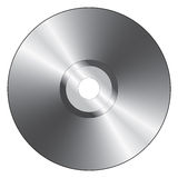 Realistic compact disc Royalty Free Stock Photos