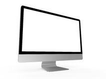 Realistic Computer Screen Royalty Free Stock Image