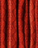 Realistic curtain Royalty Free Stock Image
