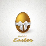 Realistic 3D Easter egg. Stock Photos