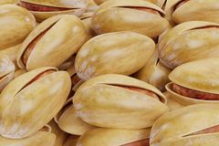 3D Render of Pistachio Nuts. Realistic 3D Render of Pistachio Nuts Royalty Free Stock Photos