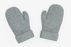 3D Render of Winter Gloves. Realistic 3D Render of Winter Gloves Royalty Free Stock Photography