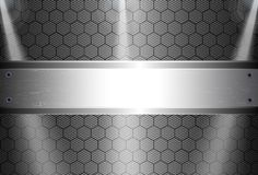 Realistic dark carbon fiber. Weave background or texture Royalty Free Stock Photos