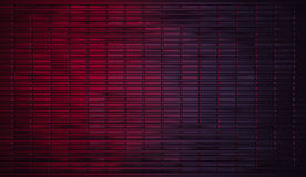 Realistic Dark Red to Purple Gradient Metal Background Stock Photo