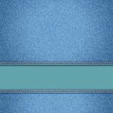 Realistic  denim background. Royalty Free Stock Images