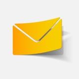 Realistic design element: newsletter Stock Photos
