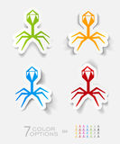 Realistic design element. organisms Royalty Free Stock Photo