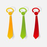 Realistic design element: tie Royalty Free Stock Image