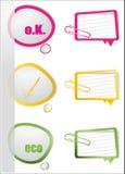 Realistic design elements Stock Image
