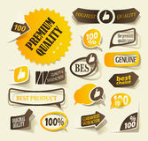 Realistic design elements Royalty Free Stock Photography
