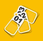 Realistic design elements Stock Photo