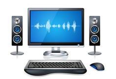 Realistic Desktop Computer Stock Images