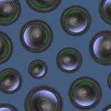 Realistic Detailed 3d Camera Lens Seamless Pattern Background. Vector. Realistic Detailed 3d Camera Seamless Pattern Background Closeup View Professional Stock Photos