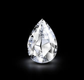 Realistic diamond. Stock Image