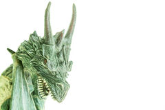 Realistic dragon toy isolated white background Stock Photography