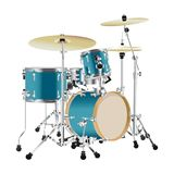 Realistic Drum kit. Illustration isolated on white background Royalty Free Stock Photo
