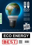 Realistic Eco Energy Poster royalty free illustration
