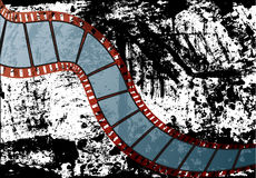 Realistic film strip vector. This is a editable film strip vector for your business Stock Image