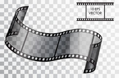 Realistic film. Vector illustration Royalty Free Stock Photos