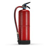 Realistic Fire Extinguisher  on white background. 3d illustration of realistic Fire Extinguisher  on white background Stock Images
