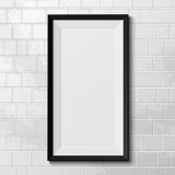 Realistic frame isolated on white background Royalty Free Stock Photo