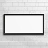 Realistic frame. Perfect for your presentations Stock Photo