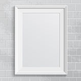 Realistic frame. Perfect for your presentations Royalty Free Stock Photos