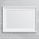 Realistic frame Royalty Free Stock Photos